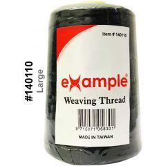Example Weaving Thread Black Jumbo