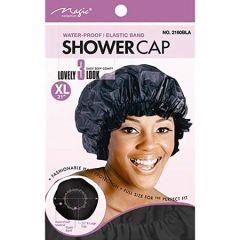 Magic Shower Cap Black XL. 12x