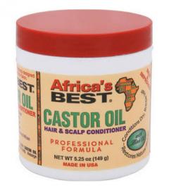AB Castor Oil Hair&Scalp Conditioner 5.25oz.