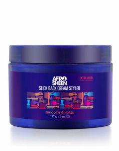 AfroSheen Slick Black Cream Styler 6oz