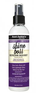AJ Grapeseed Shine Boss Sheen Mist 4oz.