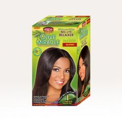 AP Olive Miracle 1 Complete Touch-Up Relaxer Kit Super