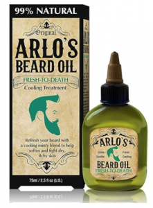 Arlo's Beard Oil Peppermint Fresh to Death 2.5oz.