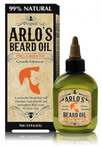 Arlo's Beard Oil Castor Pro-Growth 2.5oz.