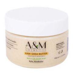 A&M Raw Shea Butter JAR 100ml.