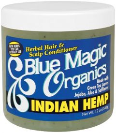 Blue Magic Organic Indian Hemp 12oz.