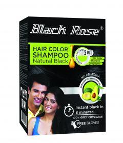 Black Rose Henna Color Shampoo 12x15gr.