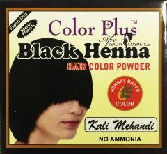 Colorplus Henna 10x50grm. # Black