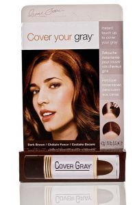 Cover Your Gray Stick # Dark Brown