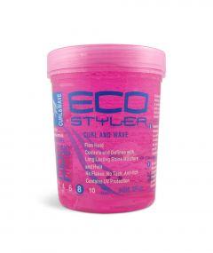 ECO Styler Styling Gel Curl & Wave 32oz.(pink)