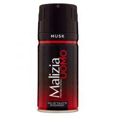 Malizia Bodyspray Musk 150ml.