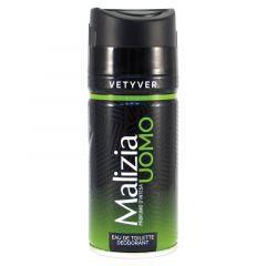 Malizia Bodyspray Vetyver 150ml.