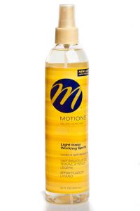 Motions Light Hold Working Spritz 12oz.