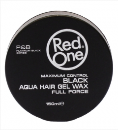 Red One Wax # Black