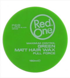 Red One Wax # Green