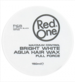 Red One Wax # White