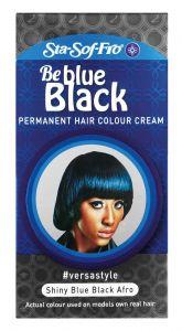 SSF Permanent Hair Color # Blue Black