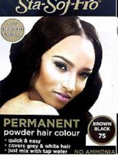 SSF HairDye Powder 8grm. # 75 Brown Black