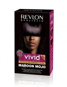 Revlon Vivid Color # Maroon Mojo