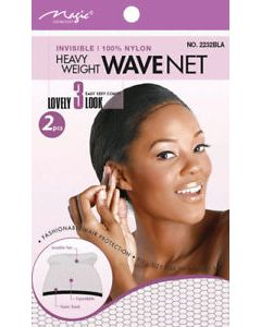 Magic Wave Net Black 2pcs. 12x