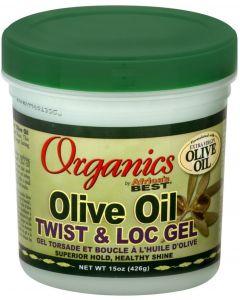 AB Organics Olive Oil Twist & Loc Gel 15oz.Sale!