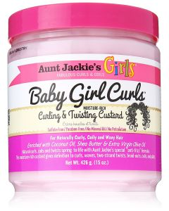 AJ Girls Baby Girl Curls Custard 15oz.