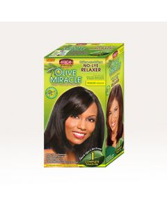 AP Olive Miracle 1 Complete Touch-Up Relaxer Kit Regular