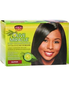 AP Olive Miracle Relaxer Kit Super