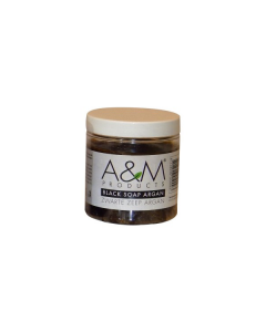 A&M Black Soap Argan 200grm.