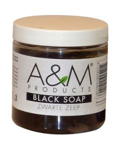 A&M Black Soap 200grm.