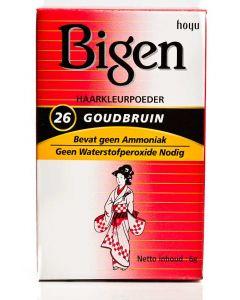 Bigen # 26 Golden Brown