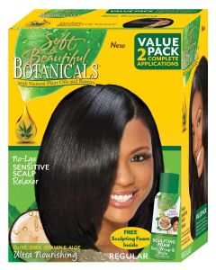 SB Botanical Relaxer Kit Regular 2Appl.