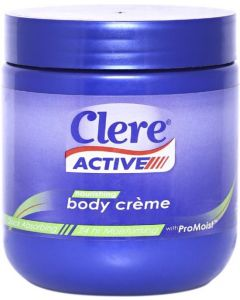 Clere Active Hand and Body Cream 400ml