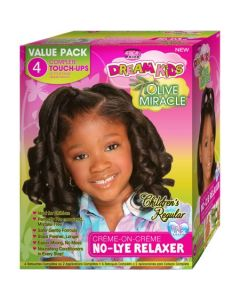 AP Dream Kids OM 4-Touch-Up Relaxer Kit Reg.