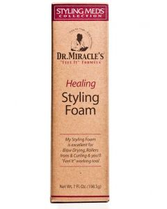 Dr.Miracles Healing Styling Foam 7oz.Sale!