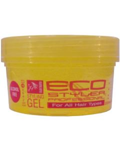 ECO Styler Styling Gel Color Yellow 8oz.