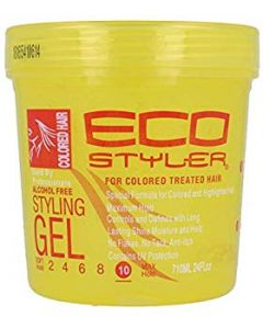 ECO Styler Styling Gel Color Yellow 24oz.
