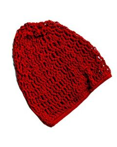 Hair Wave Net # Red 12pcs.