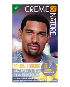 CON Men's Liquid Hair Color Jet Black