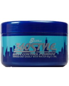 S-Curl 360 Style Pomade 3oz.