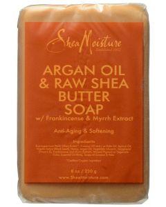 Shea Moisture Argan Oil & Raw Shea Butter Soap 8oz.