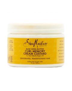 Shea Moisture RSB Curl Memory Cream Custard 12oz.
