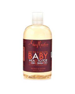 Shea Moisture Baby Red Bush Wash & Shampoo 12oz.