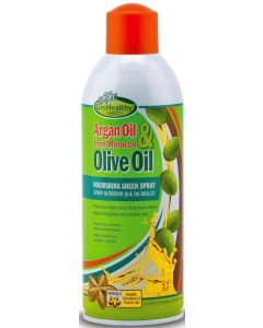 SNF GH Argan & Olive Oil Sheen Spray 15oz.Sale!